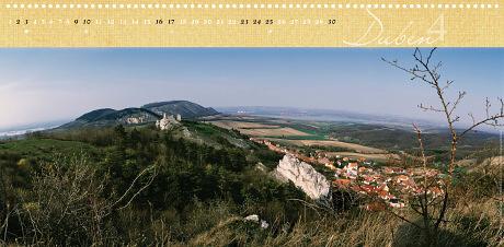 Pavlovské vrchy – Sirotčí hrádek nad Klentnicí  [ze Stolové hory]